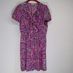 Shelby and Palmer colorful Sumer dress